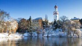 Schloss Bad Homburg im Winter © Circumnavigation-stock.adobe.com