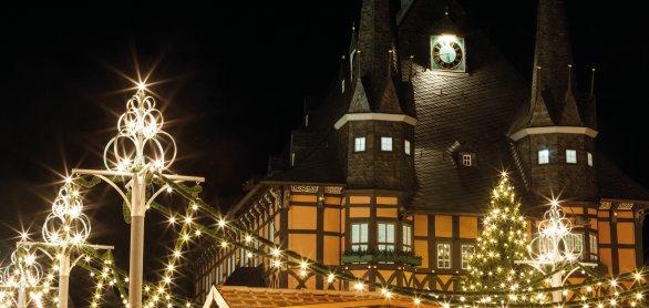 Wernigerode Weihnachtsmarkt.Siepen Reisen Zauber Der 1000 Lichter